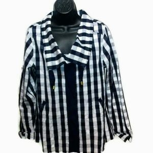 Chequered Crown & Ivy Jacket